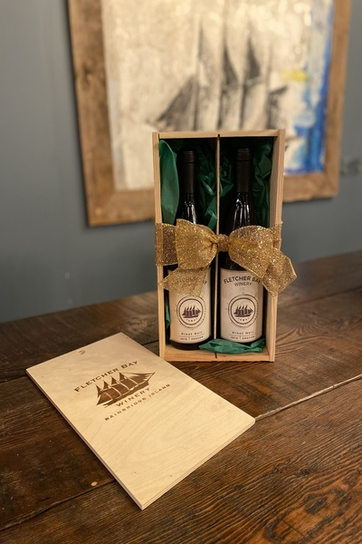Library Wine + Gift Box